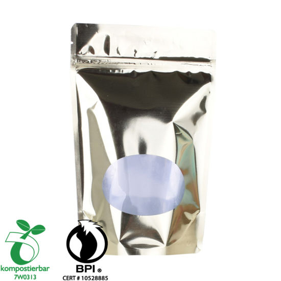 良好的密封能力Clear Window Eco Pack Bag制造商在中国